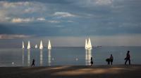 En dag på stranda