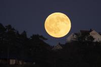 Fullmånen over Ulvrhjellet