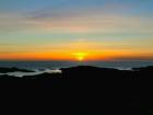 Solnedgang over Lindesneshalvøya