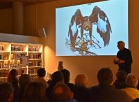 Utstillinga åpnes av Steinar Fuglestveit