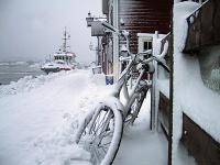 Etter snøværet