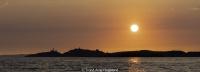 Ryvingen i solnedgang