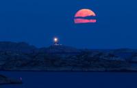 Fullmåne ved Ryvingen