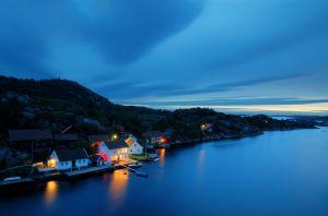 3. plass, 7588 poeng:<br />Sommernatt ved Skjernøsund