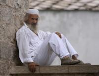 Den hvitkledde mannen i Mostar